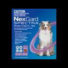 NexGard Spectra Dog Large 15.1-30kg Purple