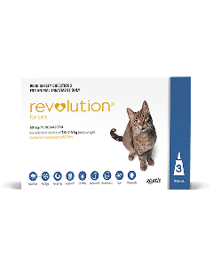 Revolution Cat 2.5kg-7.5kg Blue