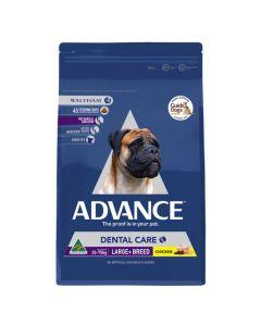 Advance dog adult dental large+ breed 13kg