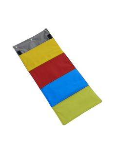 Buster activity mat rainbow purse