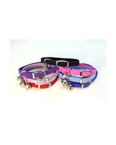 Cat collar stretch nylon pink
