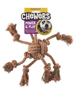 Chewers Rope Octopus Large