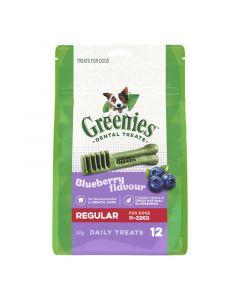 GREENIES DOG BLUEBERRY TREAT PAK LARGE 340G 8'S