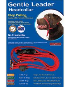 Gentle Leader Head Collar Red