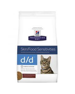 Hills Prescription Diet Cat d/d Skin & Food Sensitivities 1.6kg