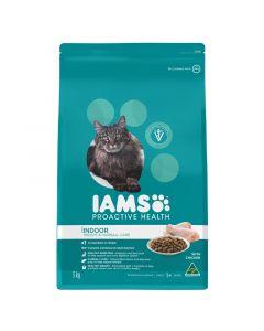 Iams Cat Adult Indoor Weight & Hairball Chicken 3kg