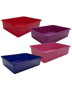Litter tray 44x31x11cm pink