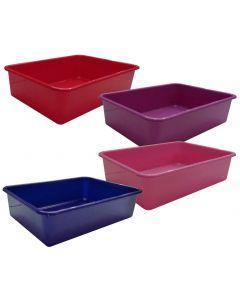 Litter tray 44x31x11cm red