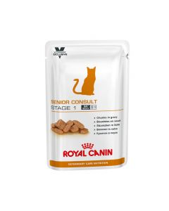 Royal Canin Vet Care Feline Senior Consult Stage 1 100g x 12 pouches