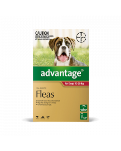 Advantage Dog Large 10-25kg Red