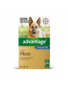 Advantage Dog Extra Large Over 25Kg Blue