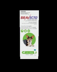 Bravecto Spot On Dog Medium 10-20kg Green 1 Pack