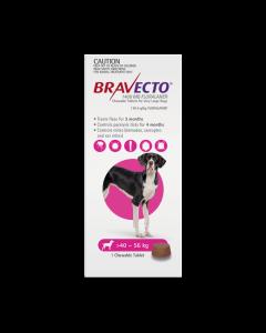 Bravecto Chewables Dog Extra Large 40-56kg Purple