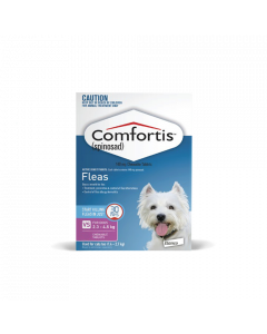 Comfortis Chewable Tablets Dog Very Small 2.3-4.5kg Pink