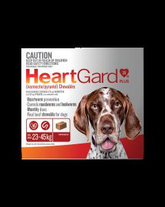 HeartGard Plus Dog Large 23-45kg Brown