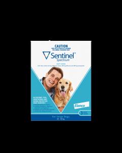 Sentinel Spectrum Dog Large 22-45kg Blue