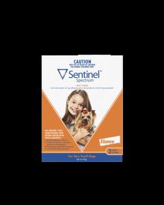 Sentinel Spectrum Dog Very Small Up To 4kg Orange