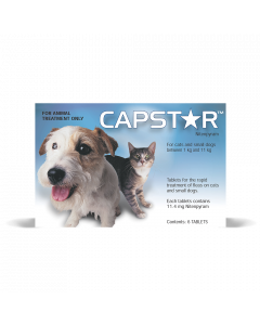 Capstar For Cats & Small Dogs 0.5-11kg 6 tablets