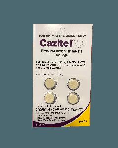 Cazitel Dog 10kg 4 Pack Purple
