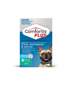 Comfortis Plus Dog Medium 9.1-18kg Green