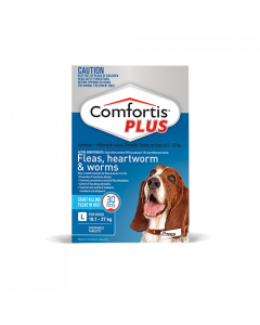 Trifexis (Comfortis PLUS) Dog Large 40.1-60lbs Blue