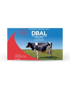 DBAL Vitamin D3 for Cattles 5 x 10ml Syringes