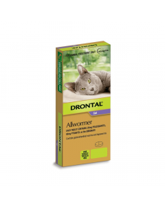 Drontal Allwormer Cat Tablets
