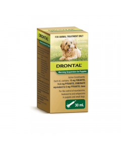 Drontal Allwormer Puppy Suspension 30ml