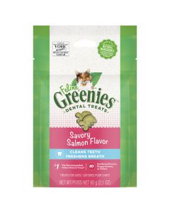 Greenies Cat Savory Salmon Treat Pack 60g