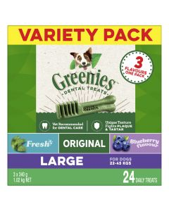 Greenies Dental Treats Dog Multi Variety 1kg