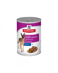 Science Diet Mature Adult Dog Stew Beef & Vegetables 363g x 12 Cans