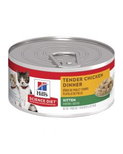 Hill's Science Diet Kitten Tender Chicken Dinner 24 x 156g