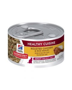 Hill's Science Diet Cat Adult Healthy Cuisine Chicken 24 x 79g