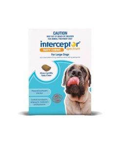 Interceptor Spectrum Dog Large 22-45kg Blue