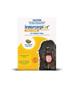 Interceptor Spectrum Dog Medium 11-22kg Yellow