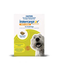 Interceptor Spectrum Dog Small 4-11kg Green