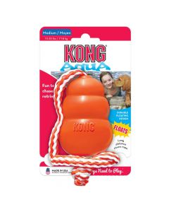 Kong Aqua With Rope Dog Toy