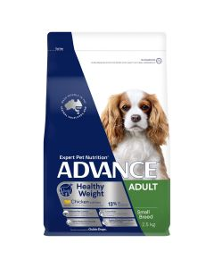 Advance Adult Dog Small Breed Healthy Weight Chicken With Rice