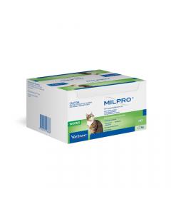 Milpro Broad Spectrum Allwormer Cat 2kg - 8kg 48 Tablets