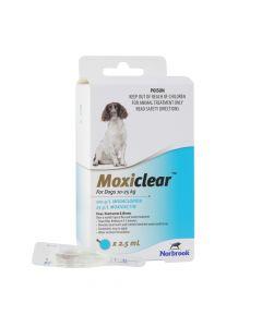Moxiclear Dog 10-25kg Blue