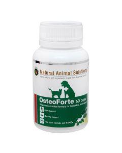 Natural Animal Solutions Osteoforte 60 Capsules