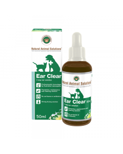 Natural Animal Solutions Ear Clear 50ml