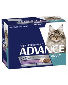 Advance Adult Cat Chicken & Turkey in Jelly 12 x 85g