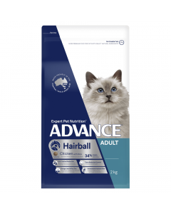 Advance Adult Cat Hairball Chicken 2kg