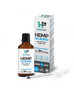 HempPet Dog Oil Blend with Hoki Fish and MCT Oil