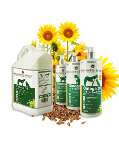 Natural Animal Solutions Omega Oil 3, 6 & 9 Oil for Dogs and Horses