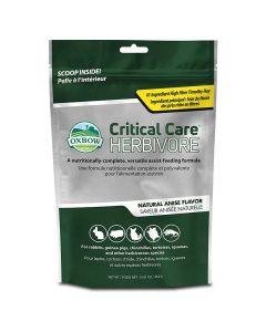 Oxbow Critical Care Herbivore Original Natural Anise Flavour 454g