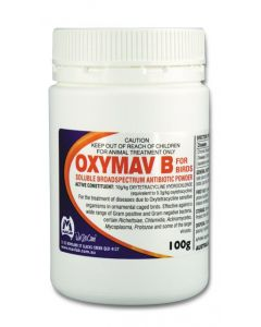 Mavlab Oxymav B for birds powder