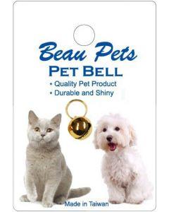 Beau Pets Brass Bell Gold Plated 14mm single bell