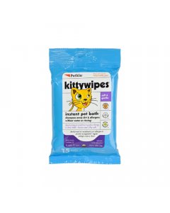 Petkin Kitty Wipes 15 Pack